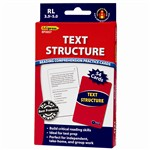 Text Structure Practice Cards, Blue Level By Edupress