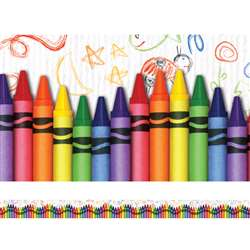 Crayons Layered Border By Edupress