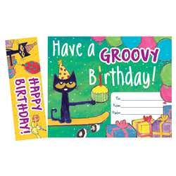 Pete The Cat Happy Birthday Bookmark Awards, EP-327