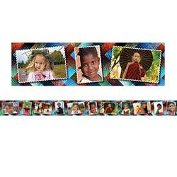 Multicultural Kids Postcards Photo Border, EP-3290