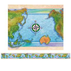 Border World Continents 12/Pk By Edupress