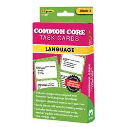 Shop Gr 3 Common Core Language Task Cards - Ep-3351 By Edupress