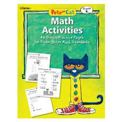 Pete The Cat Math Workbook Gr K, EP-3512