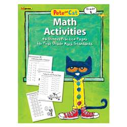 Pete The Cat Math Workbook Gr 1, EP-3514