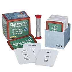 Classwords Vocabulary Gr 4 By Edupress