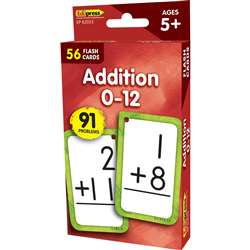 Additon 0-12 Flash Cards, EP-62033