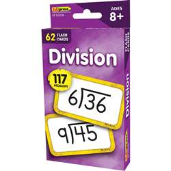 Divison Flash Cards, EP-62036