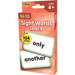 Beginning Words Level B Flash Cards Sight Words, EP-62038