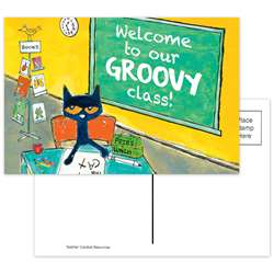 Pete The Cat Welcome Postcards Groovy Class, EP-63934