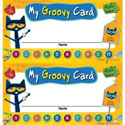 Pete The Cat My Groovy Punch Cards, EP-63942