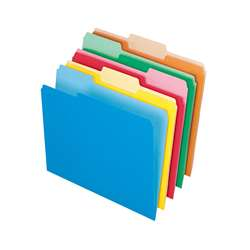 Oxford 100Ct Assort Color Top File Folders By Esselte