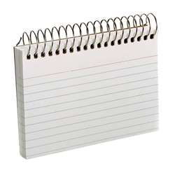 Oxford Spiral Index Cards 3X5 White By Esselte