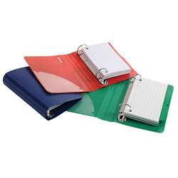 Oxford Poly Index Card Binder Assorted By Esselte