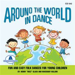 "Around The World "" Dance Cd, ETACD542"