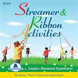 Streamer And Ribbons Activity Cd, ETACD578