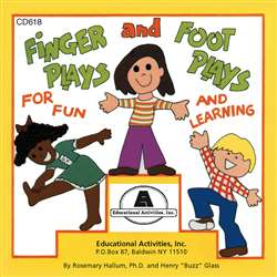 Fingerplays & Footplays Cd By Educational Activities
