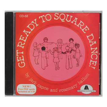 Get Ready To Square Dance Cd By Educational Activities