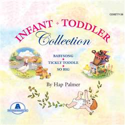 Infant Toddler Collection Cd Color, ETACDSET7138