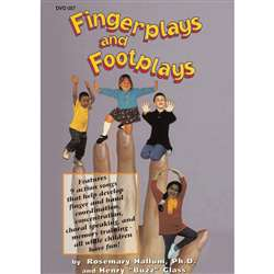 Fingerplays And Footplays Dvd By Educational Activities
