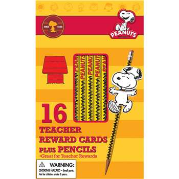 Peanuts Snoopy Way To Go Pencils W/ Toppers, EU-610134