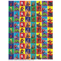 Marvel Super Hero Adventure 88Up Stickers Mini, EU-621006