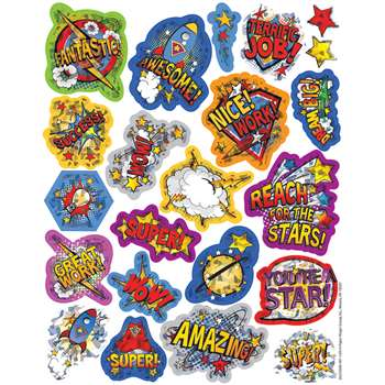 Super Class Sparkle Stickers, EU-623304