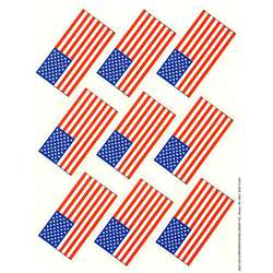 Us Flags Giant Stickers By Eureka