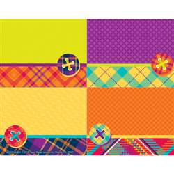 Plaid Attitude Name Tags, EU-650322