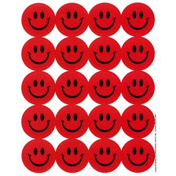 Stickers Scented Smiles 80/Pk Strawberry By Eureka