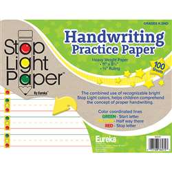 Stop Light 100Ct Practice Paper, EU-805107