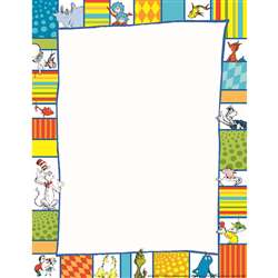 Shop Dr Seuss Shapes Computer Paper - Eu-812118 By Eureka