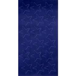 Stickers Foil Stars 1/2 Inch 250/Pk Blue By Eureka