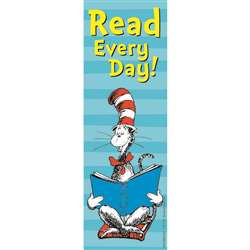 Cat In The Hat Read Every Day. Bookmarks By Eureka