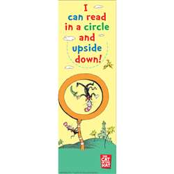 Dr Seuss I Can Read In A Circle And Upside Down Bookmarks By Eureka