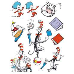 Cat In The Hat Characters 12 X 17 Window Clings By Eureka