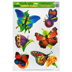 Window Cling Butterflies 12 X 17 By Eureka