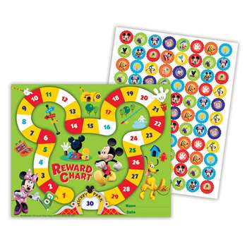 Shop Mickey Mouse Clubhouse Mickey Park Mini Reward Chart Plus Stickers - Eu-837036 By Eureka