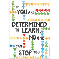 Determined To Learn 13X19 Posters, EU-837127