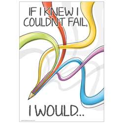 If I Knew I Couldnt Fail 13X19 Posters, EU-837130