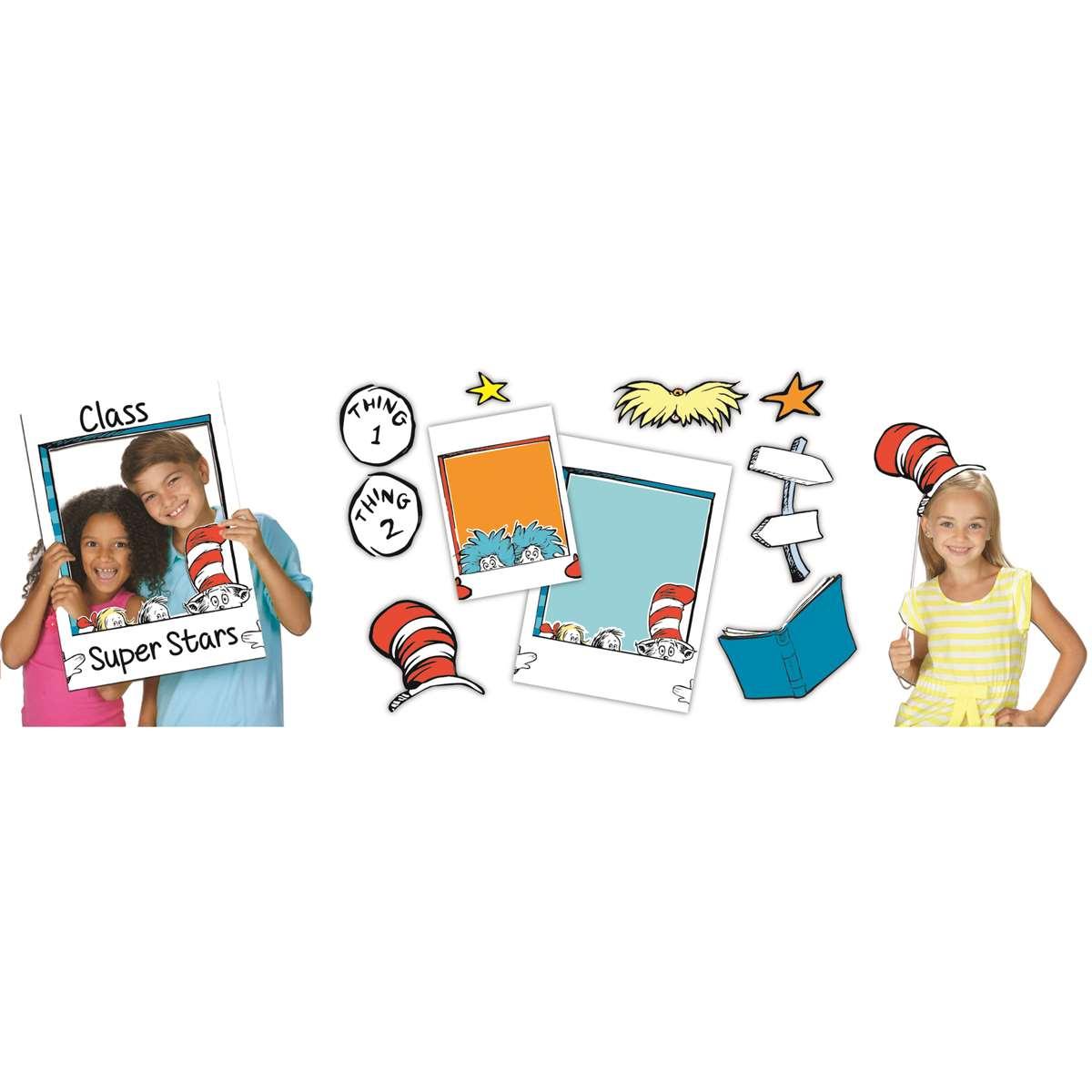 Dr Seuss School Selfie Eu 837226 Eureka Mat Frames K12 School