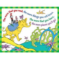 Dr Seuss The More You Read 17 X 22 Posters By Eureka