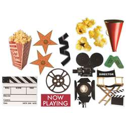 Movie Theme 2-Sided Deco Kit By Eureka