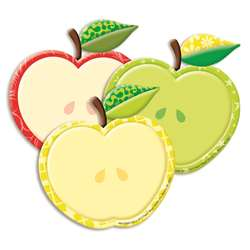 Color My World Assorted Apple Paper Cutouts, EU-841000