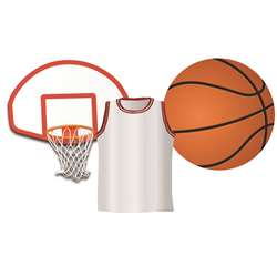 Basketball Assorted Cut Outs By Eureka