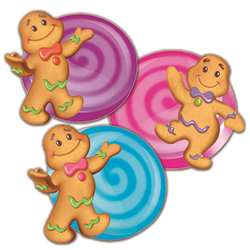 Candy Land Assorted Paper Cut Outs By Eureka