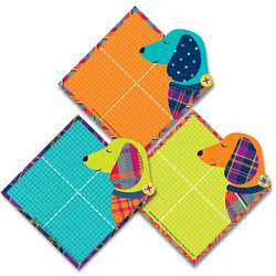 Plaid Attitude Dogs Paper Cutouts, EU-841365