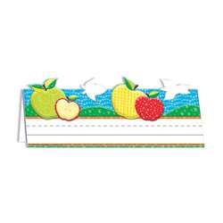 Color My World Tented Apple Name Plates, EU-843761