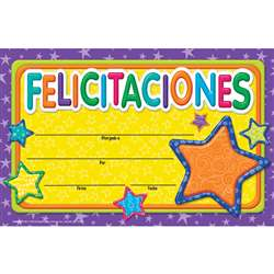 Color My World Congratulations Spanish Recognition, EU-844006