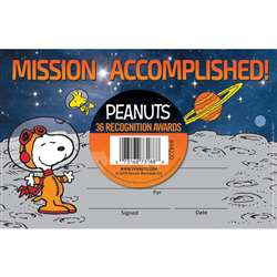 Peanuts Nasa Recognition Award, EU-844220