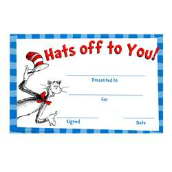 Cat In The Hat Hats Off To You Award By Eureka